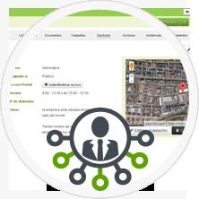 Completa gestion de la información de empresas