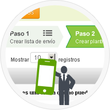 Realiza SMS marketing